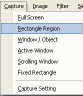 easy capture capture menu
