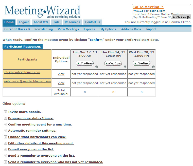 Free meeting organizer boy does this save time and for Email template to schedule a meeting