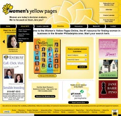 New Women's Yellow Pages Site